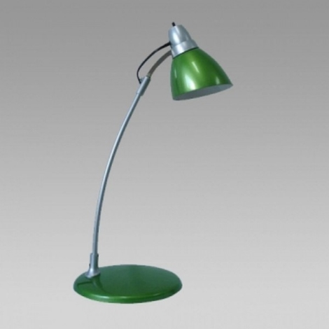 PREZENT 35001 - TEO asztali lámpa 1xE14/40W zöld