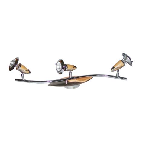 PREZENT 356 - ZEUS mennyezeti lámpa 3xE14/R50/40W