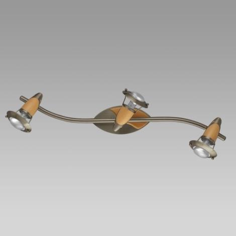 PREZENT 357 - ZEUS mennyezeti lámpa 3xE14/R50/40W