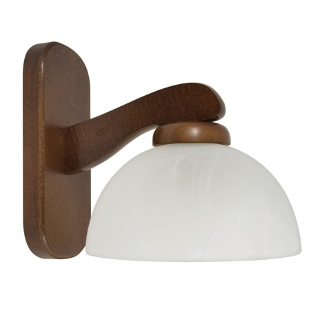 PREZENT 44020 M54 - TEMIDA fali lámpa 1xE27/60W sötét fa