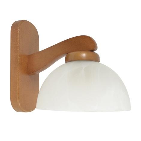PREZENT 44020 M56 - TEMIDA fali lámpa 1xE27/60W cseresznye
