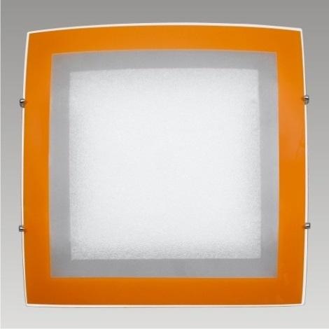 PREZENT 45003 - ARCADA mennyezeti lámpa 2xE27/60W narancs
