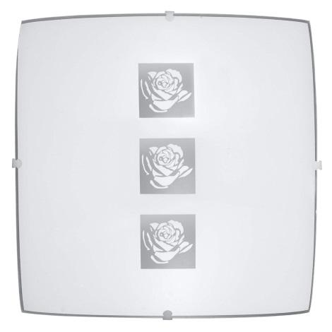 PREZENT 45041 - DELTA mennyezeti lámpa 1xE27/60W fehér