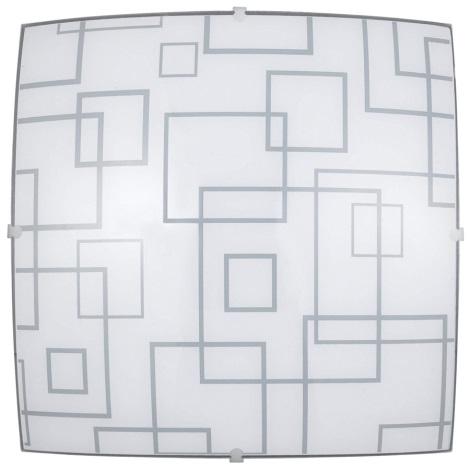PREZENT 45043 - DELTA mennyezeti lámpa 1xE27/60W  fehér