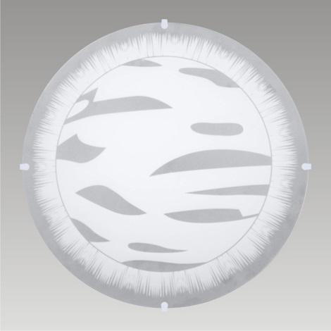 PREZENT 45048 - INCA mennyezeti lámpa 2xE27/60W fehér