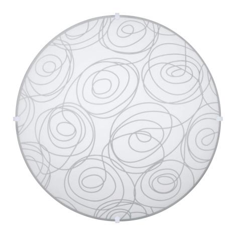 PREZENT 45050 - LAURA mennyezeti lámpa 2xE27/60W fehér