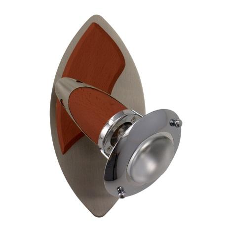 PREZENT 464 - ZEUS fali lámpa 1xE14/R50/40W cseresznye