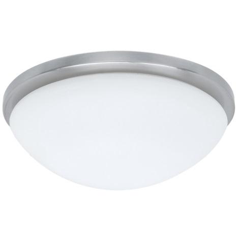 PREZENT 49000 - PERI mennyezeti lámpa 2xE27/60W matt króm