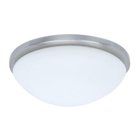 PREZENT 49002 - PERI mennyezeti lámpa 1xE27/60W matt króm