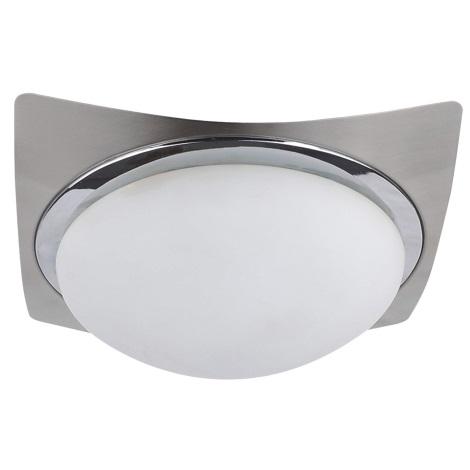 PREZENT 49011 - MANTA mennyezeti lámpa 1xE27/60W matt króm