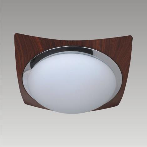 PREZENT 49012 - MANTA mennyezeti lámpa 1xE27/60W sötét fa