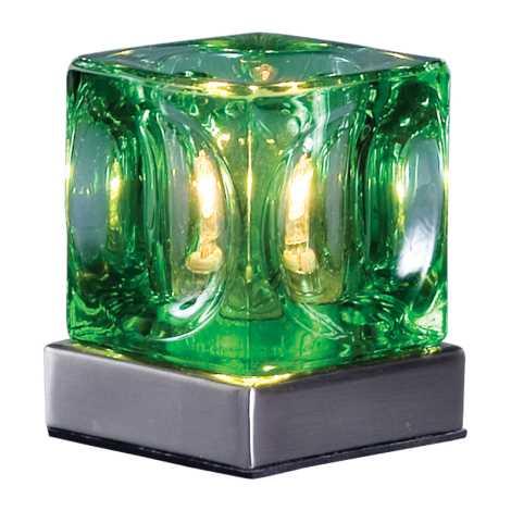 PREZENT 505 - DECORA asztali lámpa 1xG9/40W zöld