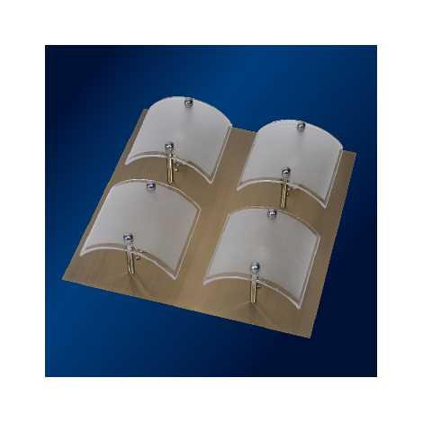 PREZENT 51105 - BRICK mennyezeti lámpa 4xG9/40W