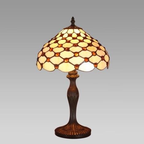 PREZENT 53 - TIFFANY asztali lámpa 1xE27/60W