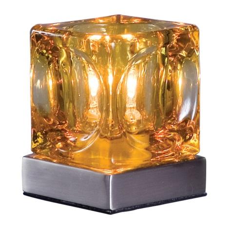 PREZENT 534 - DECORA asztali lámpa 1xG9/40W barna