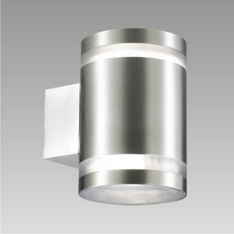 PREZENT 61003 - CANBERRA kültéri fali lámpa 2xGX53/9W rozsdamentes acél IP54