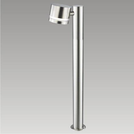 PREZENT 61004 - CANBERRA kültéri állólámpa 1xGX53/9W rozsdamentes acél IP54