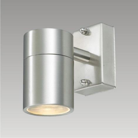 PREZENT 61007 - DAVOS kültéri fali lámpa 1xGU10/50W rozsdamentes acél IP54