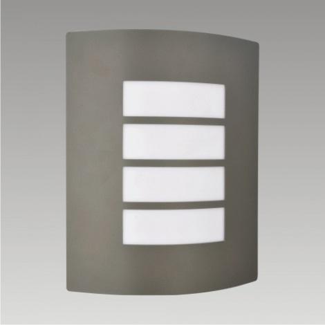 PREZENT 61021 - MEMPHIS kültéri fali lámpa 1xE27/60W sötét szürke IP44
