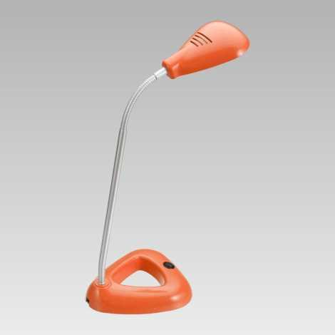 PREZENT 63104 - FLIPP LED-es irodai lámpa1xSMD LED/4,68W narancs