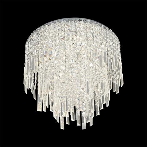 Prezent 64338 - PALASS kristály mennyezeti lámpa 16xG4/20W