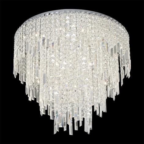 Prezent 64339 - PALASS kristály mennyezeti lámpa 24xG4/20W