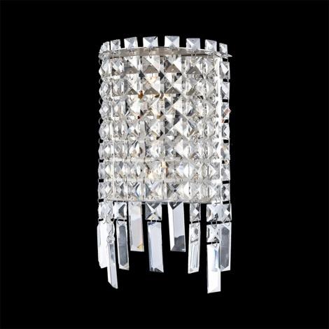 Prezent 64340 - PALASS kristály mennyezeti lámpa 2xG4/20W