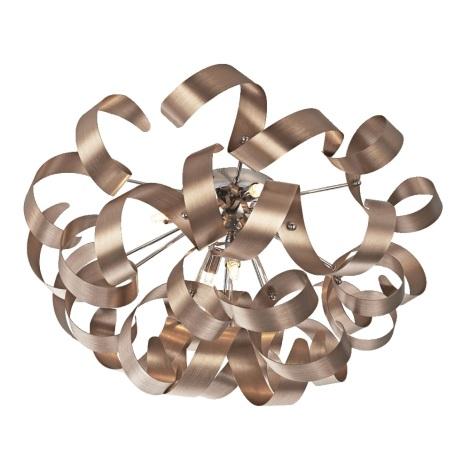 Prezent 64357 - Mennyezeti lámpa RIBBON 5xG9/33W/230V
