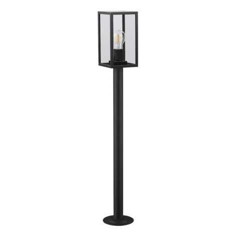 Prezent 65305 - Kültéri lámpa LOARA 1xE27/60W/230V IP54 fekete