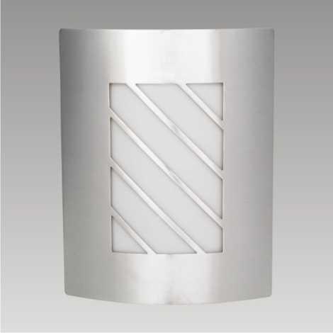 PREZENT 66002 - MEMPHIS kültéri fali lámpa 1xE27/60W rozsdamentes acél IP44