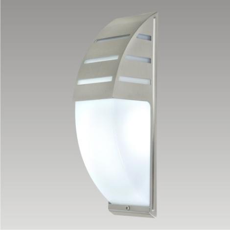PREZENT 66003 - AMANT kültéri fali lámpa 1xE27/40W rozsdamentes acél IP44