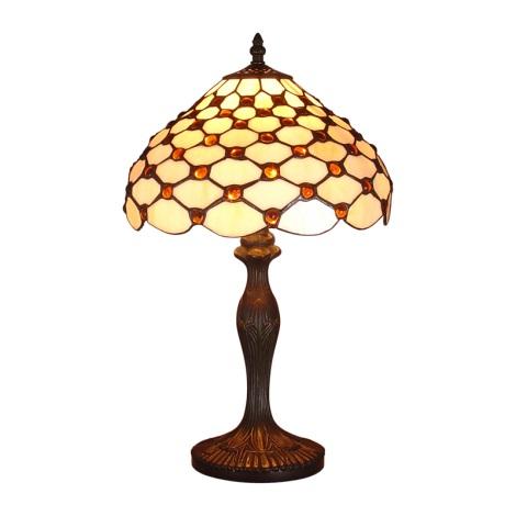 PREZENT 67 - TIFFANY asztali lámpa 1xE14/40W