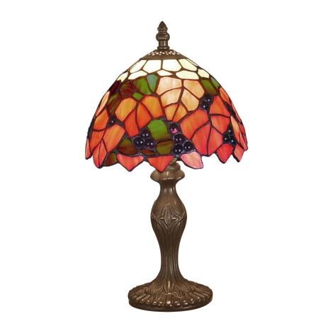 PREZENT 69 - TIFFANY asztali lámpa 1xE14/40W