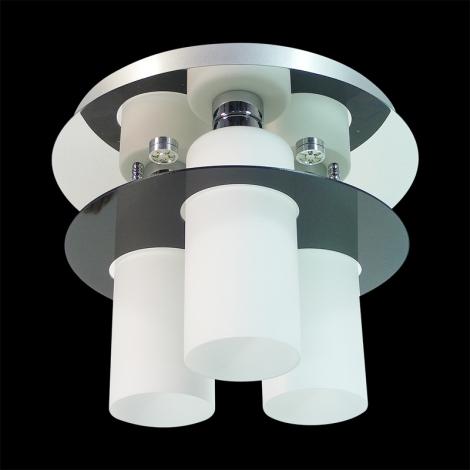 PREZENT 69044 - MACAO mennyezeti lámpa 6xE27/60W+6xLED/3W