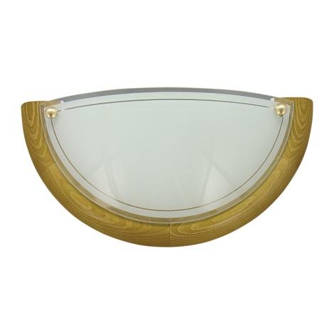 PREZENT 7003 - UFO fali lámpa 1xE27/60W sötét fa