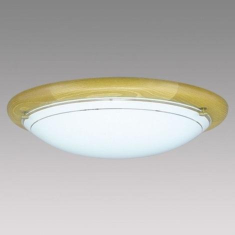 PREZENT 7007 - UFO fali/mennyezeti lámpa 2xE27/60W sötét fa
