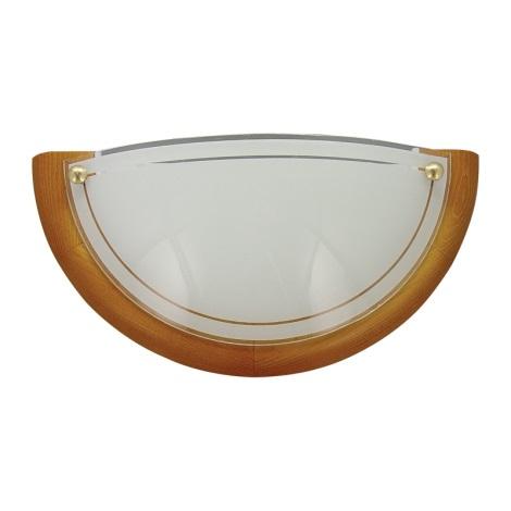 PREZENT 7009 - UFO fali lámpa 1xE27/60W cseresznye