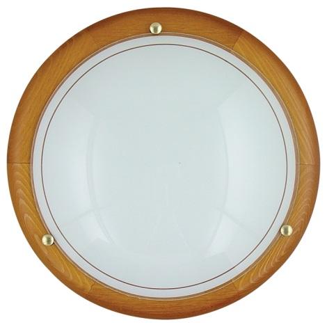 PREZENT 7011 - UFO fali/mennyezeti lámpa 2xE27/60W cseresznye