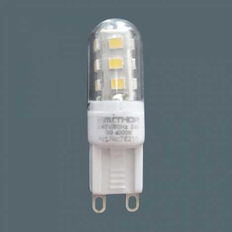 PREZENT 75210 -  LED-es izzó LED G9/2W/220-240V