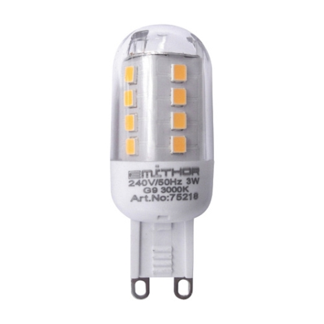 PREZENT 75218 -  LED-es izzó 1xLED G9/3W/220-240V