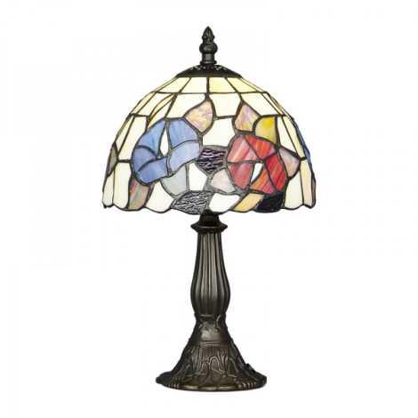 PREZENT 79 - TIFFANY asztali lámpa 1xE14/40W