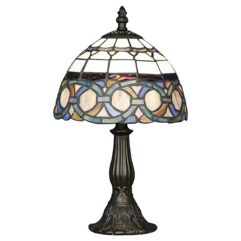 PREZENT 81 - TIFFANY asztali lámpa 1xE14/40W