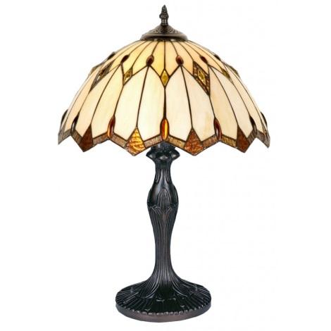 PREZENT 82 - TIFFANY asztali lámpa 1xE27/40W