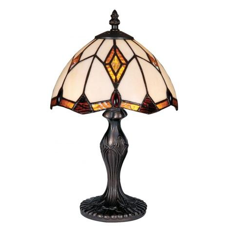 PREZENT 84 - TIFFANY asztali lámpa 1xE14/40W