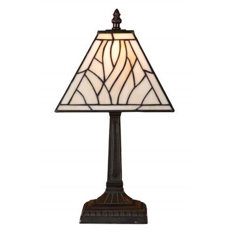 PREZENT 86 - TIFFANY asztali lámpa 1xE14/40W