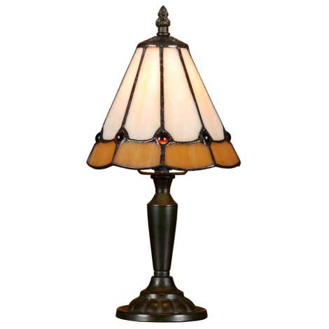 PREZENT 91 - TIFFANY asztali lámpa 1xE14/40W
