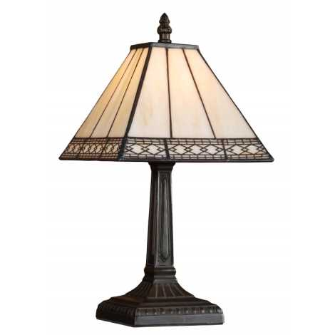 PREZENT 92 - TIFFANY asztali lámpa 1xE14/40W