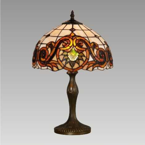 PREZENT 96 - TIFFANY asztali lámpa 1xE27/60W