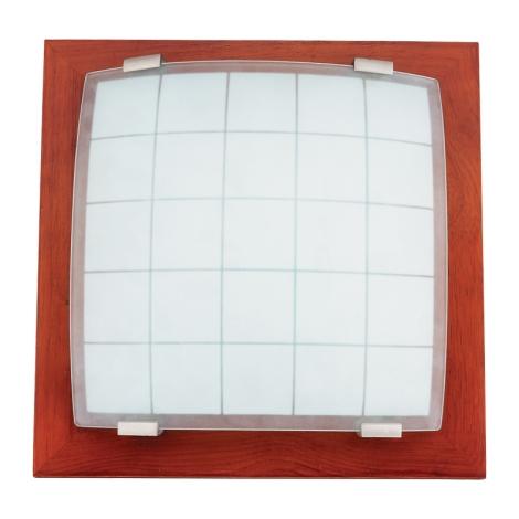 PREZENT 973 - GEOMETRICA fali/mennyezeti lámpa 1xE27/60W cseresznye