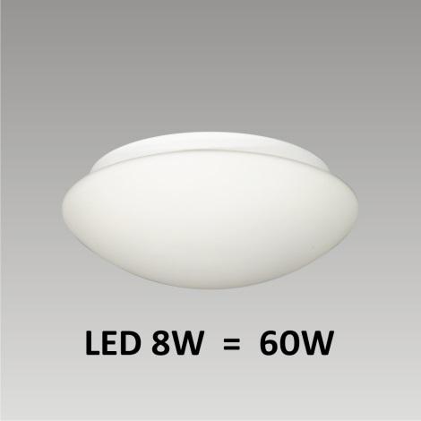 PREZENT LED1500 - ASPEN  fürdőszobai LED-es fali/mennyezeti lámpa 1xLED/8W